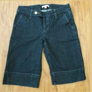 Cabi Denim Jean Bermuda Walking Short Sz 4 (NL)
